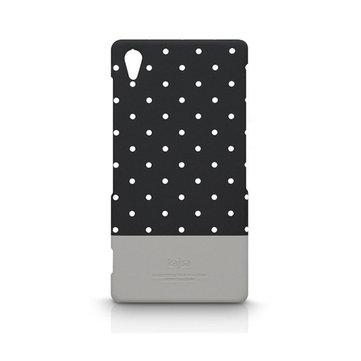 Kajsa Fashion Polka Dot Design Case Cover For SONY Z2