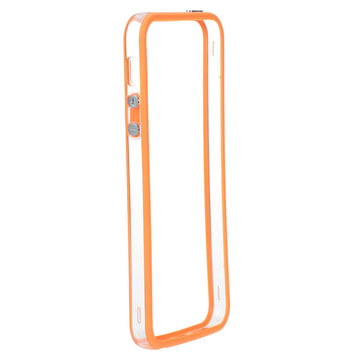 Double Color Border Aluminium Metal Bumper Frame Case For iPhone5 5S