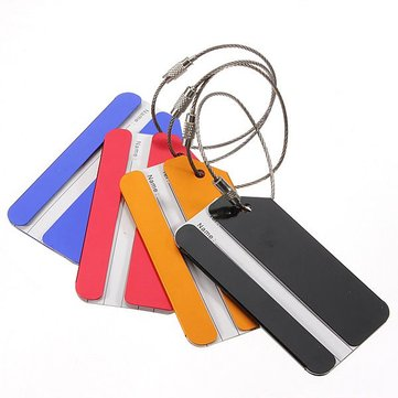 Travel Luggage Baggage Suitcase Address Name Tags Lable Holder