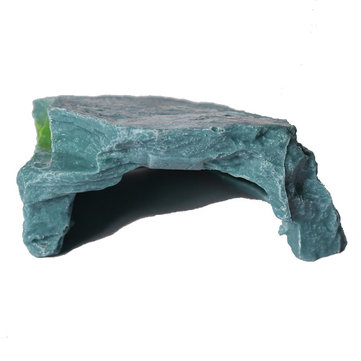 Aquarium Artificial Tortoise Terrace Cave Hole Fish Tank Decoration