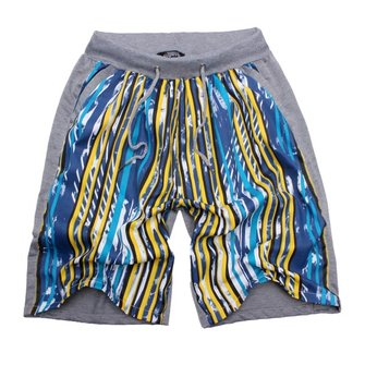 Men's new network Double Sided pants printed casual shorts
