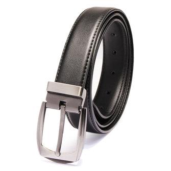 Men Leisure Fashion Leather Pin Buckle Belt