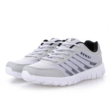 Mens Mesh Surface Breathable Light Weight Sneakers Sport Running Shoes