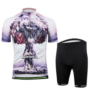 Cycling Suit Bicycle Bike Wear Men Shirt and Shorts Atomic