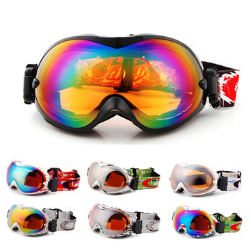 UV Protection Ski Snowboard Skate Goggles Glasses Eyewear Sports