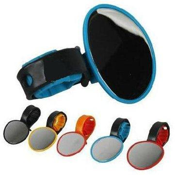 Bike Rear View Specchietto flessibile per bicicletta con manubrio in vetro 5 colori