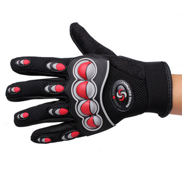 Full Finger Safety Bike Motorcycle Racing Gloves for Pro-biker MCS-26
