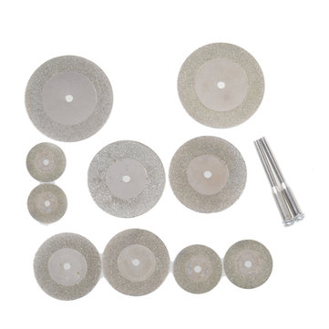 10 Pcs Diamond Grinding Slice Dremel Cutting Discs for Rotary tools