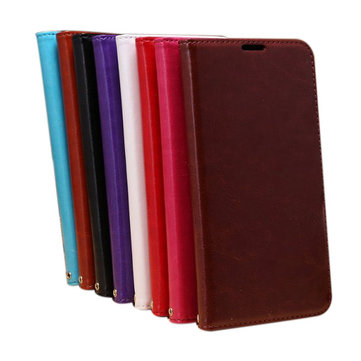 Sheep Grain Wallet Printing Leather Cover For Huawei Mate2