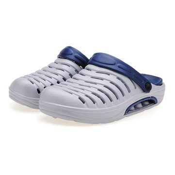 Mens Air Cushion Slippers Antiskid Garden Hole Shoes