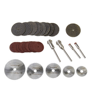 39pcs Resin Metal Cutting Blade Wheels Disc Set for Dremel Rotary Tool