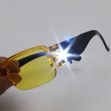 LED Lamp Magnetic Therapy Night Vision Glasses