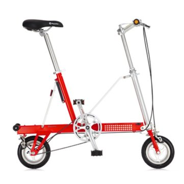 8 inch Wheel Folding Bike Mini Bicycle Aluminum Alloy Frame
