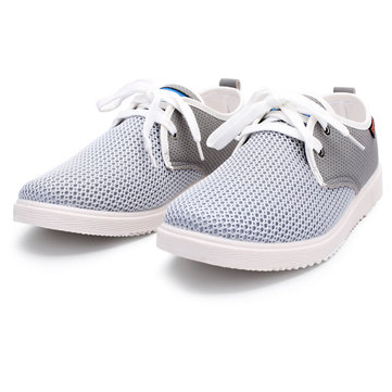 Mens Tide Nets Mesh Surface Flats Casual Sports Shoes