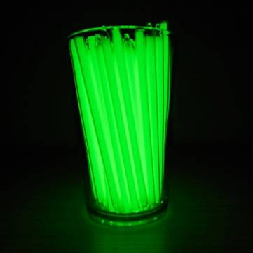 1pcs Trit Vials Tritium Self-luminous 15-Years 5x100mm (Flashlight Accessories)