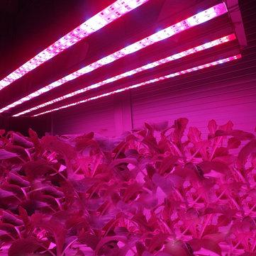 370mm 8.64W Waterproof High Power 8LED Tube Strip Grow Light Lamp
