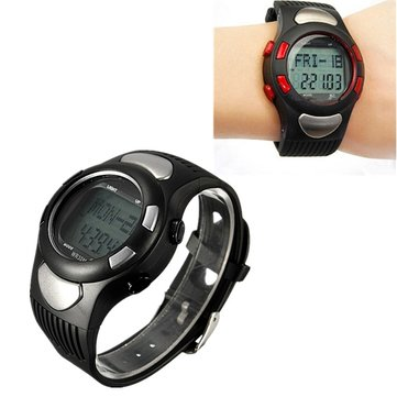 Sport Fitness Watch Pedometer Pulse Hartslag Calorie Monitor