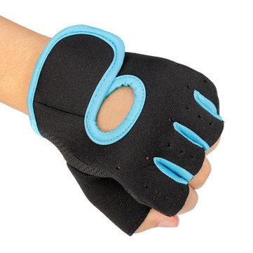 Motorcycle Sports Weight Lifting Exercise Slip Resistant Gloves