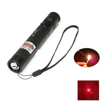 301 Focus 650nm 5mw Red Light Visible Beam Laser Pointer