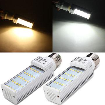 E27 5W 420-450LM White/Warm White 25 2835 SMD LED Plug Light 90-260V