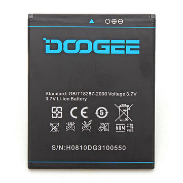 Original 2000mAh Battery For DOOGEE DG310 Smartphone