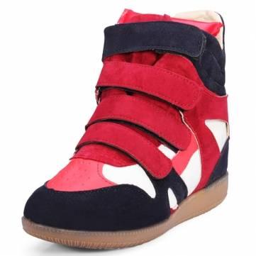 Подбор цветов по высоте увеличение кроссовки отдыха ботинки женщин
