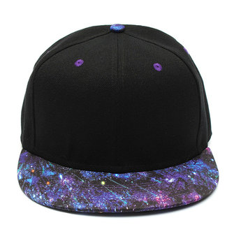 Galaxy Pattern Unisex Adjustable Hat Hiphop Snapback Baseball Cap