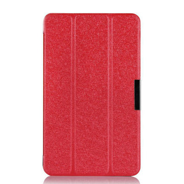 Ultra Thin Tri-fold PU Leather Case Cover For Asus ME181c Tablet