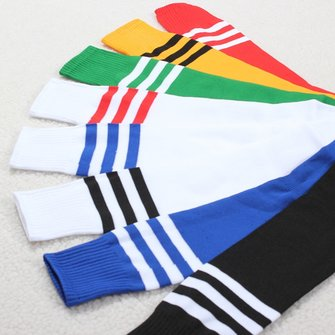 Football Apparel Unisex Stripe Knee High Socks Retro Tube Socks