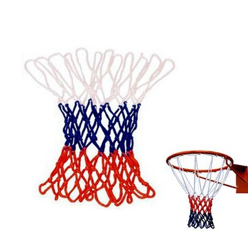 Overstriking Solid Three Color Polypropyleen Basketball Net Extended
