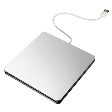 External Slot-in USB DVD RW Super Driver CD Burner for PC MacBook