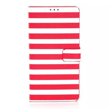 Çift Renkli Deri Stand Kılıf için Samsung Not4 N9100