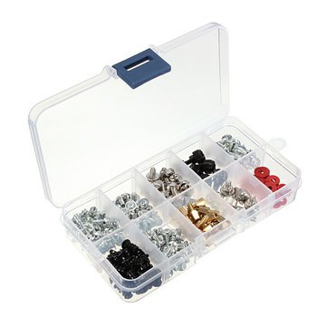 228pcs Computer Case Screws Kit For Motherboard PC Case Fan