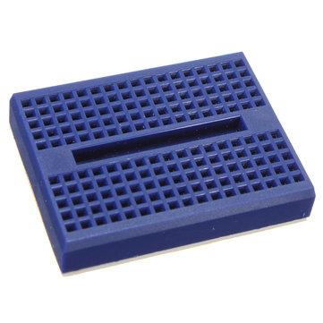 10pcs blu 170 fori mini solderless prototipo tagliere per Arduino