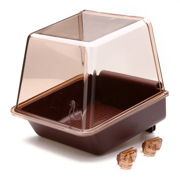Deluxe Bird Bathtub Bath Box Cage Accessory for Bird