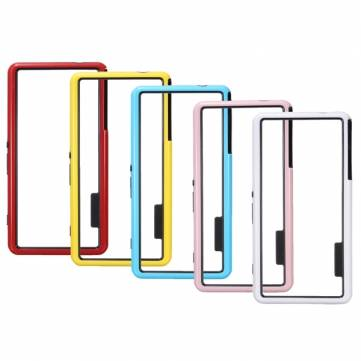 Dual Color PC TPU Bumper Frame Case For Sony Xperia Z3 Compact M55W