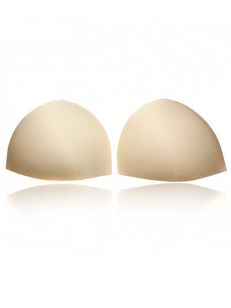 Sponge Swimwear Bra Replacements Triangle Insert Bras Pads