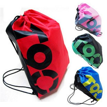 Outdoor Traveling Sports Gym Waterproof Backpack Drawstring Bag