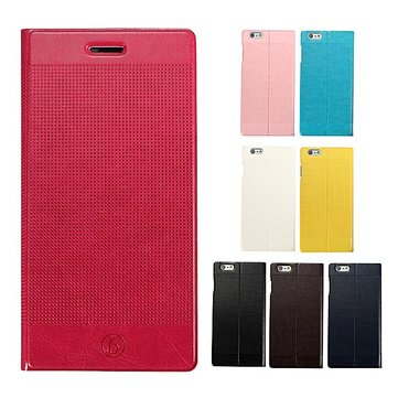 Heat Disspation Wallet Card Slot Bracket Flip Case For iPhone 6 Plus & 6s Plus
