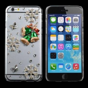 Christmas Gift Handmade Bling Jingling Bell Shape Case For iPhone 6