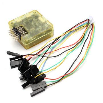 OpenPilot CC3D Controlador de vuelo Bent Pin STM32 32 bits Flexiport para RC Drone FPV Racing Multi Rotor