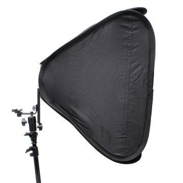 FOTGA 24 Inch 60cm Softbox Soft Box For Flashlight Speedlite