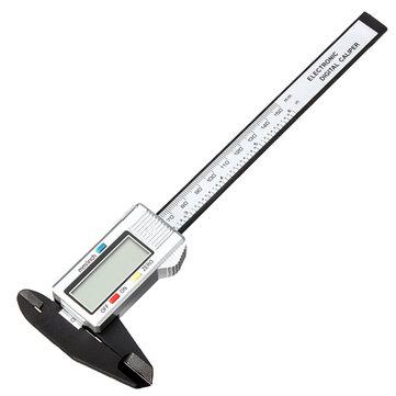 Raitool™ ER01 6 Inch 150mm Composite Digital Caliper Electronic Caliper Ruler