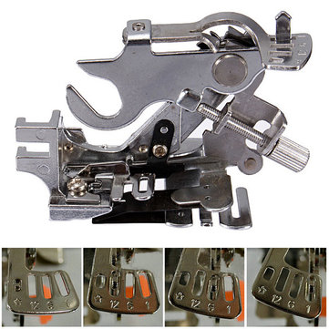 Ruffler Presser Foot Feet Attachment Sewing Machine For Brother