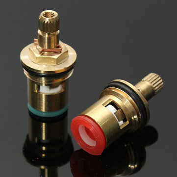 1/2 Inch Turn Ceramic Disc Cartridge Tap Valves Hot Cold Repair Kit