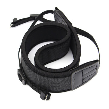 Universal Skidproof Elastic Neoprene Neck Strap For DSLR Camera