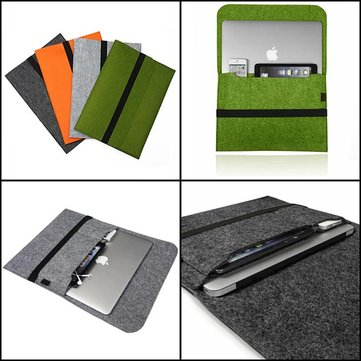 Smart Wool Felt Sleeve Case Cover Tas Voor Macbook Pro Retina