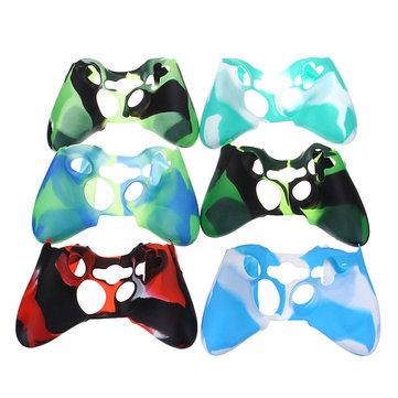 Sostituzione camuffamento skin copertura in silicone per controller Xbox 360