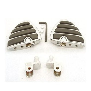 Motorcycle Front Foot Pegs For Honda GL ACE Valkyrie Shadow