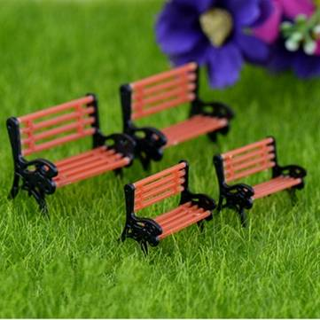 Model Park Chair Child Accessories Micro Landscape DIY Accessories